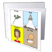 Parsley Sage Rosemary and Time Greeting Card
