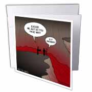 Wifi in Hell Greeting Card
