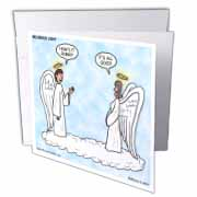 Heavenly Angels Question and Answer - Its All Good Greeting Card