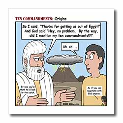 Ten Commandments, Origins Iron on Heat Transfer
