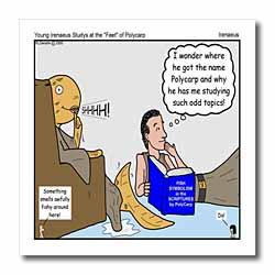 Irenaeus - Studies At the Feet of Polycarp Iron on Heat Transfer
