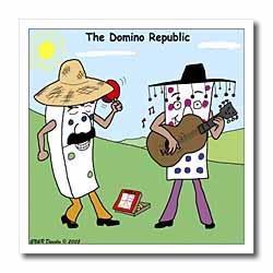 The Domino Republic Iron on Heat Transfer