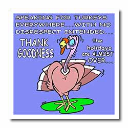 Ira Monroes Grateful Holiday Turkey Iron on Heat Transfer