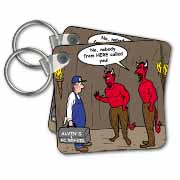 Air Conditioner Repair in Hell Key Chain