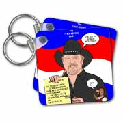 The Trace Adkins Diets Key Chain