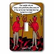Devilish Questions  Light Switch Cover