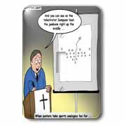 Pastor Telestrator Light Switch Cover