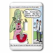 Halloween - Zombie Punch and the Religious Visitors Light Switch Cover