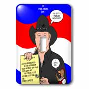 The Trace Adkins Diets Light Switch Cover