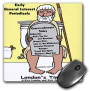 Early Bathroom Reading  Mouse Pad