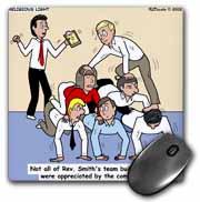 Pastor Team Building Ideas Mouse Pad