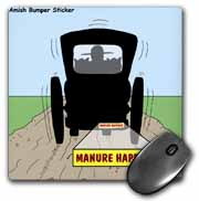 Manure Happens Mouse Pad