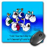 Larry Miller - Swan-Mart Gift Cards Mouse Pad