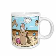 Not Much Glamour In Running Noah s Ark  Mug