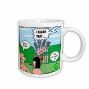Adam and Eve - Lock-out at the Garden of Eden Mug
