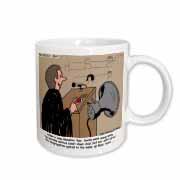 Sermon Count-Down Clock and Blast Horn Mug
