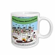 Snowman Motivational Seminar Mug