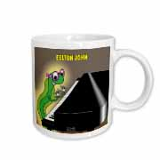 Eelton John the piano player Mug