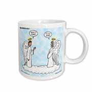 Heavenly Angels Question and Answer - Its All Good Mug