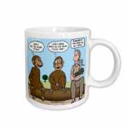 Dr. Jane Goodalls 50th anniversary at GDI - monkey business Mug