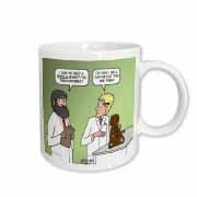 Rhesus or Reeses Monkey - laboratory dilemmas Mug