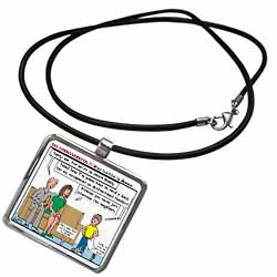 Ten Commandments 7 Stay Faithful to Spouse Necklace With Pendant
