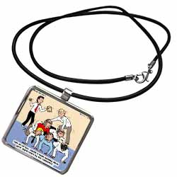 Pastor Team Building Ideas Necklace With Pendant