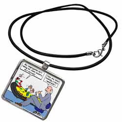 Pastor Problems with Clown Ministry Necklace With Pendant