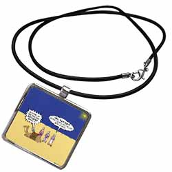 GPS Navigation and the Three Wisemen Necklace With Pendant