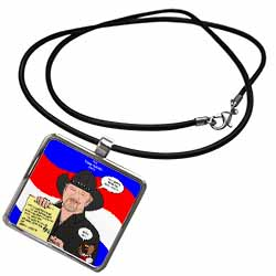 The Trace Adkins Diets Necklace With Pendant