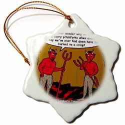 Devilish Questions  Ornament