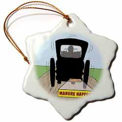 Manure Happens Ornament