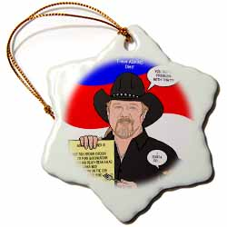 The Trace Adkins Diets Ornament