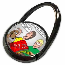 Training the Dog to Fetch Pizza Phone Ring