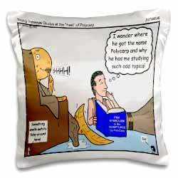 Irenaeus - Studies At the Feet of Polycarp Pillow Case