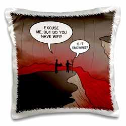 Wifi in Hell Pillow Case