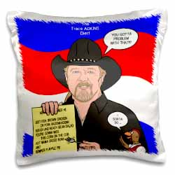 The Trace Adkins Diets Pillow Case