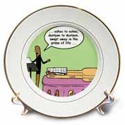 Broom Funerals  Plate