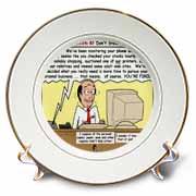 Ten Commandments 8 Dont Steal Plate