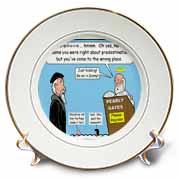 Calvin - Heaven Can Wait Plate