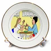 Catherine of Siena - Im Mortified Plate