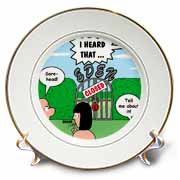 Adam and Eve - Lock-out at the Garden of Eden Plate
