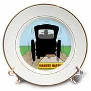 Manure Happens Plate