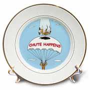 Chute Happens Plate