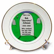 Unexamined Life Tombstone Plate