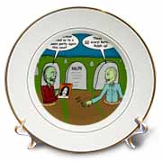 Halloween - Zombies are Invited to Michael Jacksons Party Plate