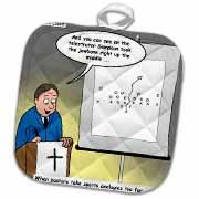 Pastor Telestrator Potholder