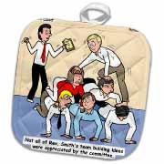 Pastor Team Building Ideas Potholder