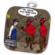 Air Conditioner Repair in Hell Potholder