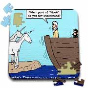 Sorry  No Unicorns  Puzzle